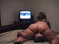 Любительское порно дамы с огромной жопой и ее любовника