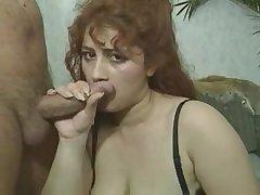 Групповой анальный секс с толстушкой
