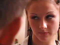 Итальянский секс со стройной проституткой