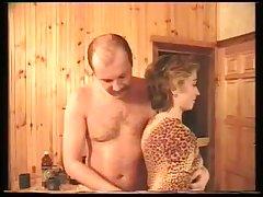 Ретро секс в бане